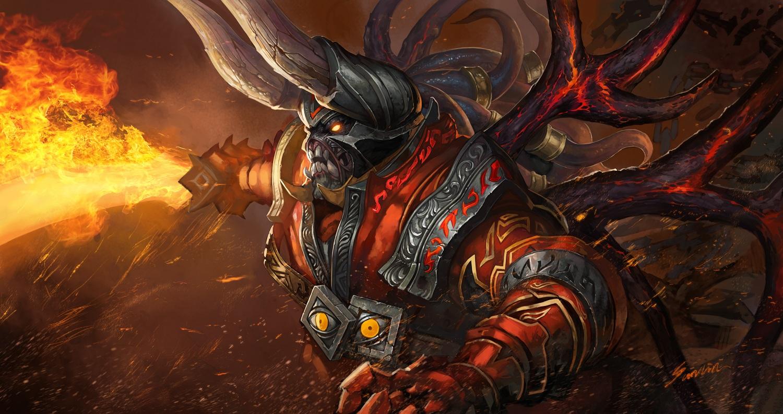 Doom Дум картинка, wallpapers dota 2 Скачать бесплатно