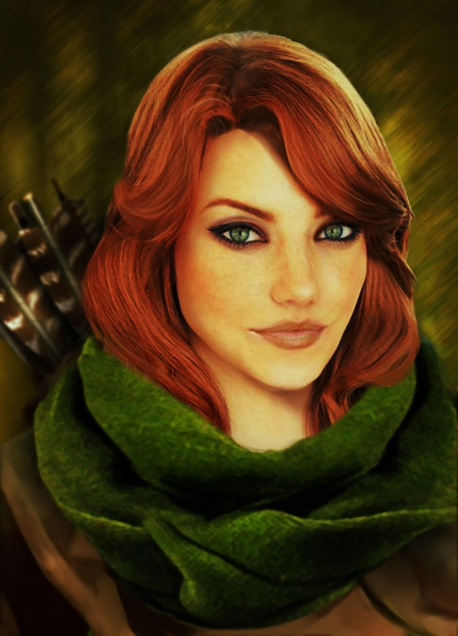 Windrunner Виндраннер download mobile wallpapers dota 2