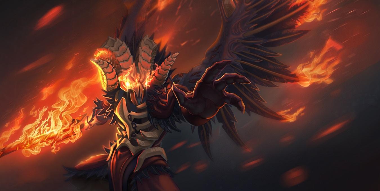 Doom, картинка Дум, wallpapers dota 2 Скачать бесплатно 1220х1020
