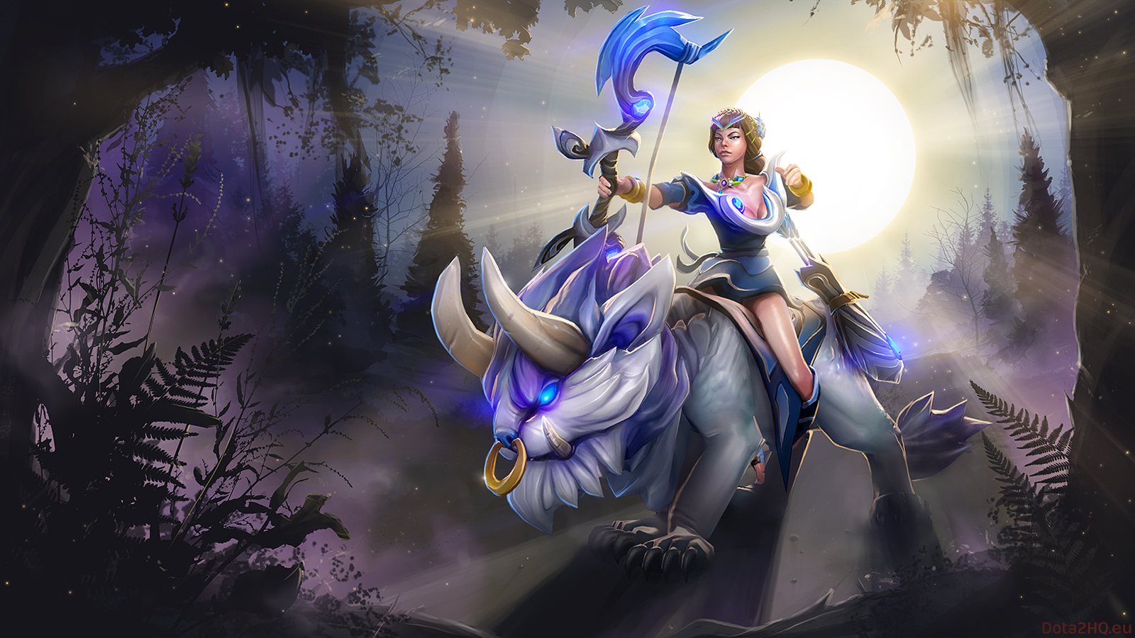 mirana wallpapers dota 2