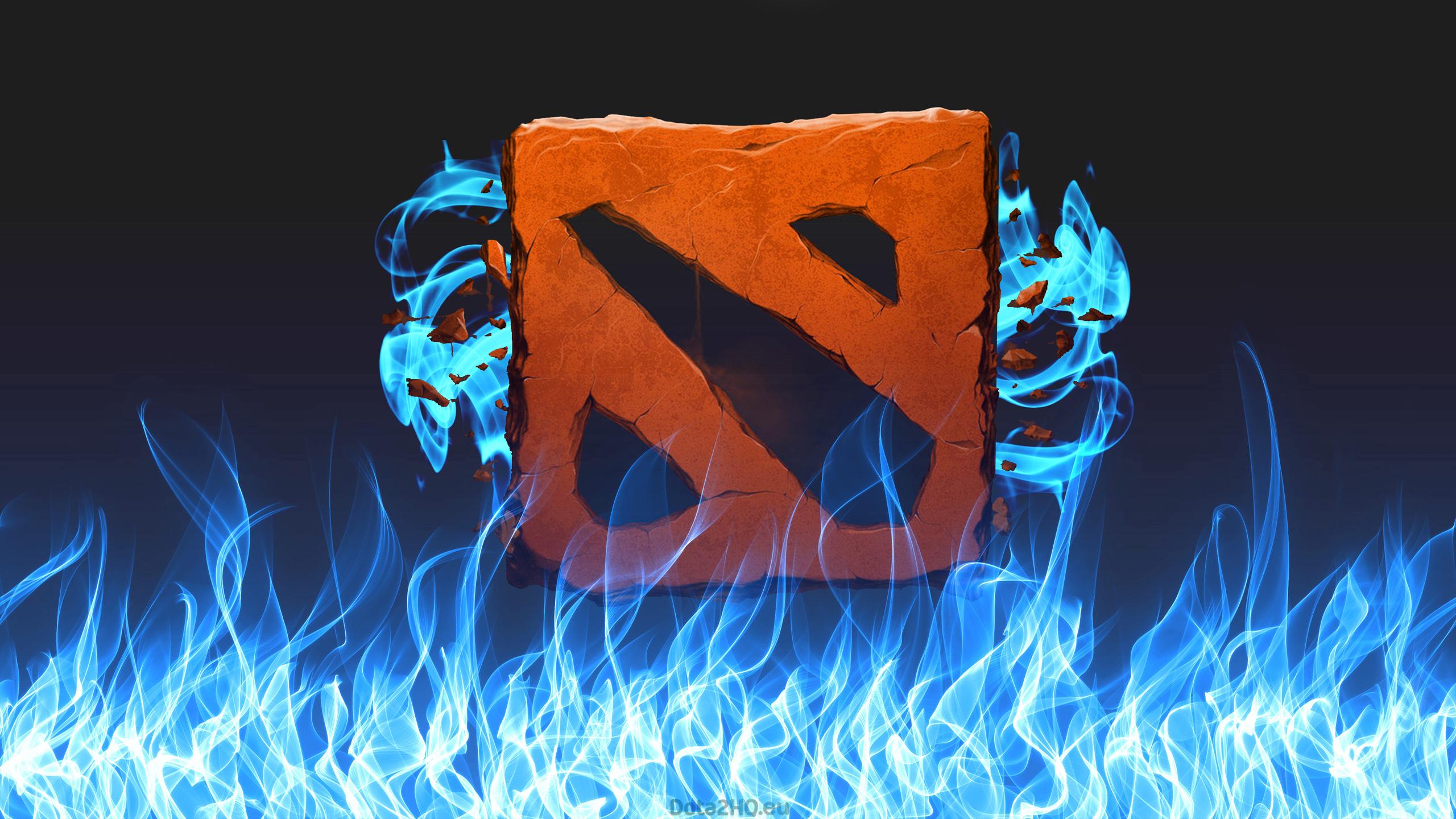 Dota2 Пламя, синий огонь
