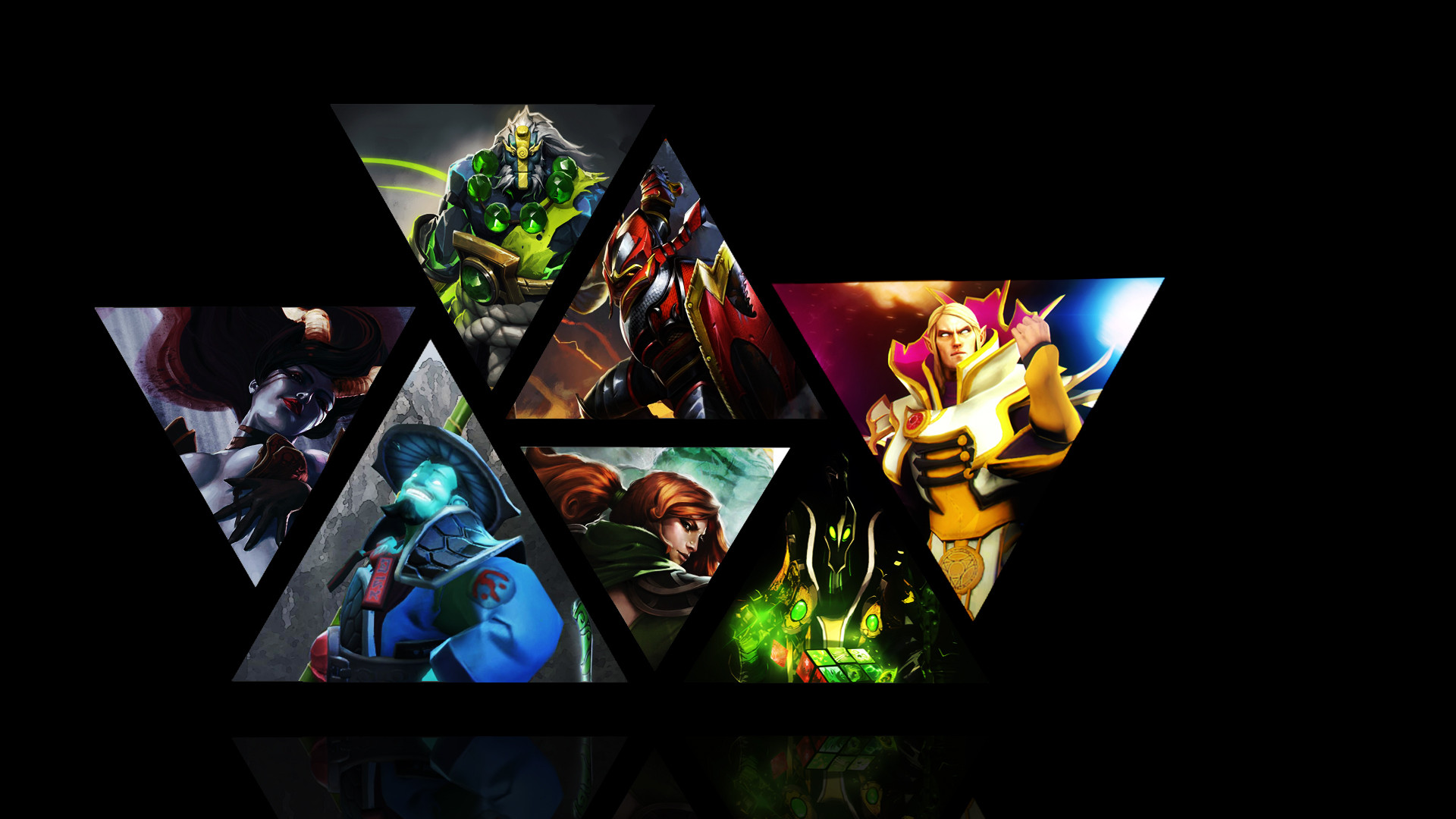Dota 2 Heroes Wallpapers
