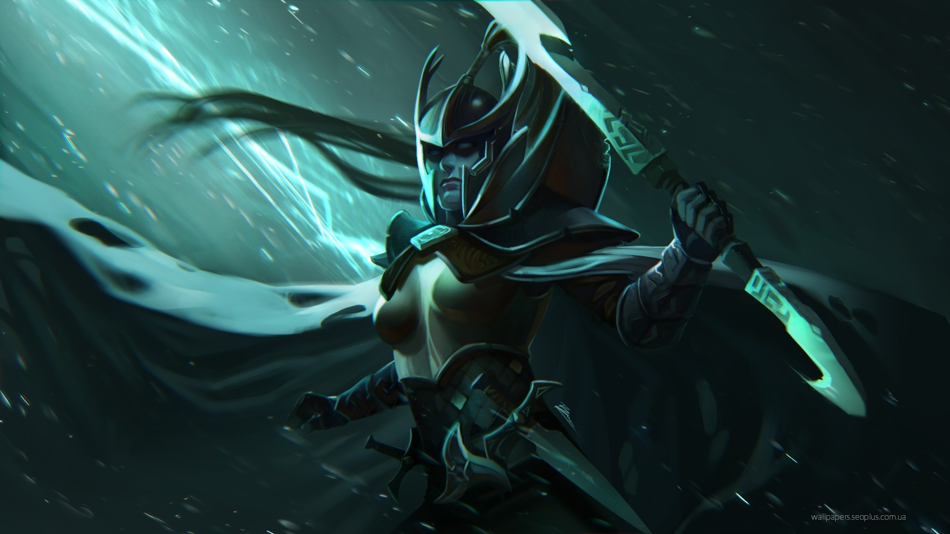 Phantom assassin,Mortred,Фантом Ассасин wallpapers Dota 2