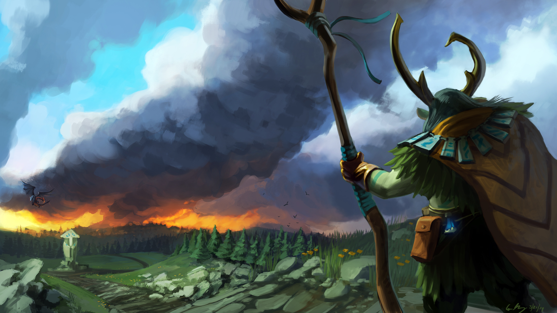 Nature's Prophet Wallpapers Dota 2 Free | Wallpapers dota 2 ...