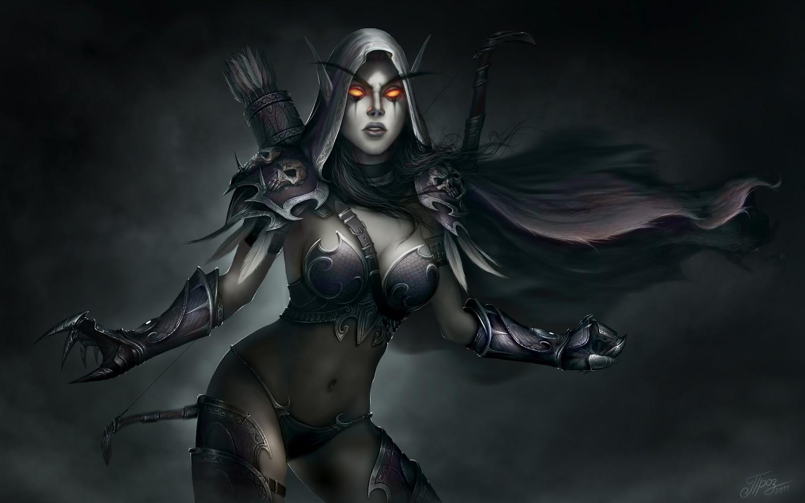 Warcraft traxex desnuda sexy comic