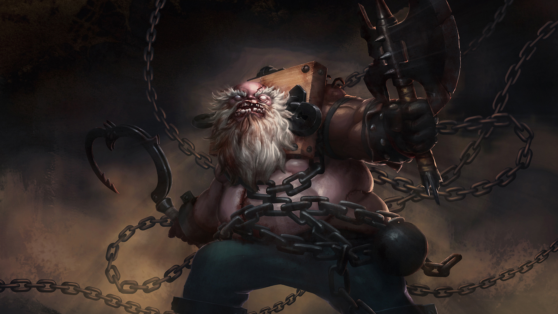 Pudge Chains of the Black Death
