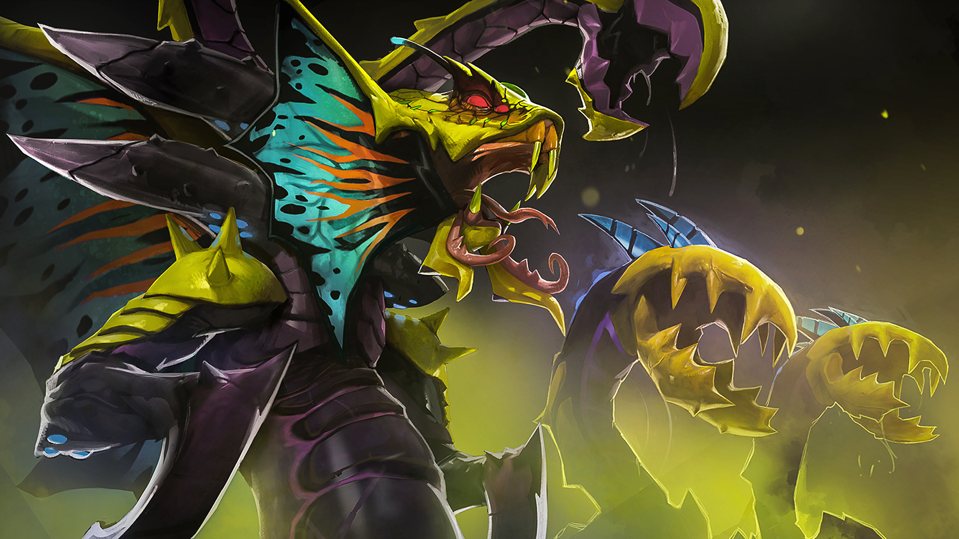 Venomancer Dota 2 wallpapers