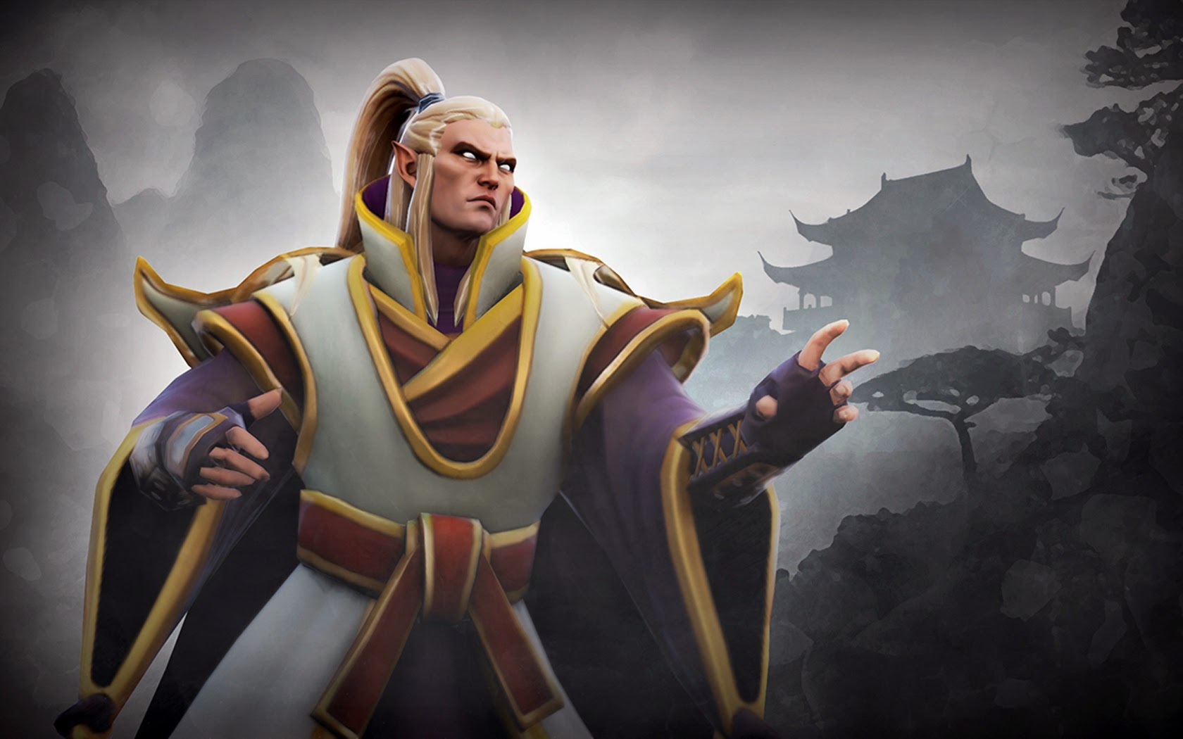 Invoker wallpapers Garbs of the Eastern Range Set
