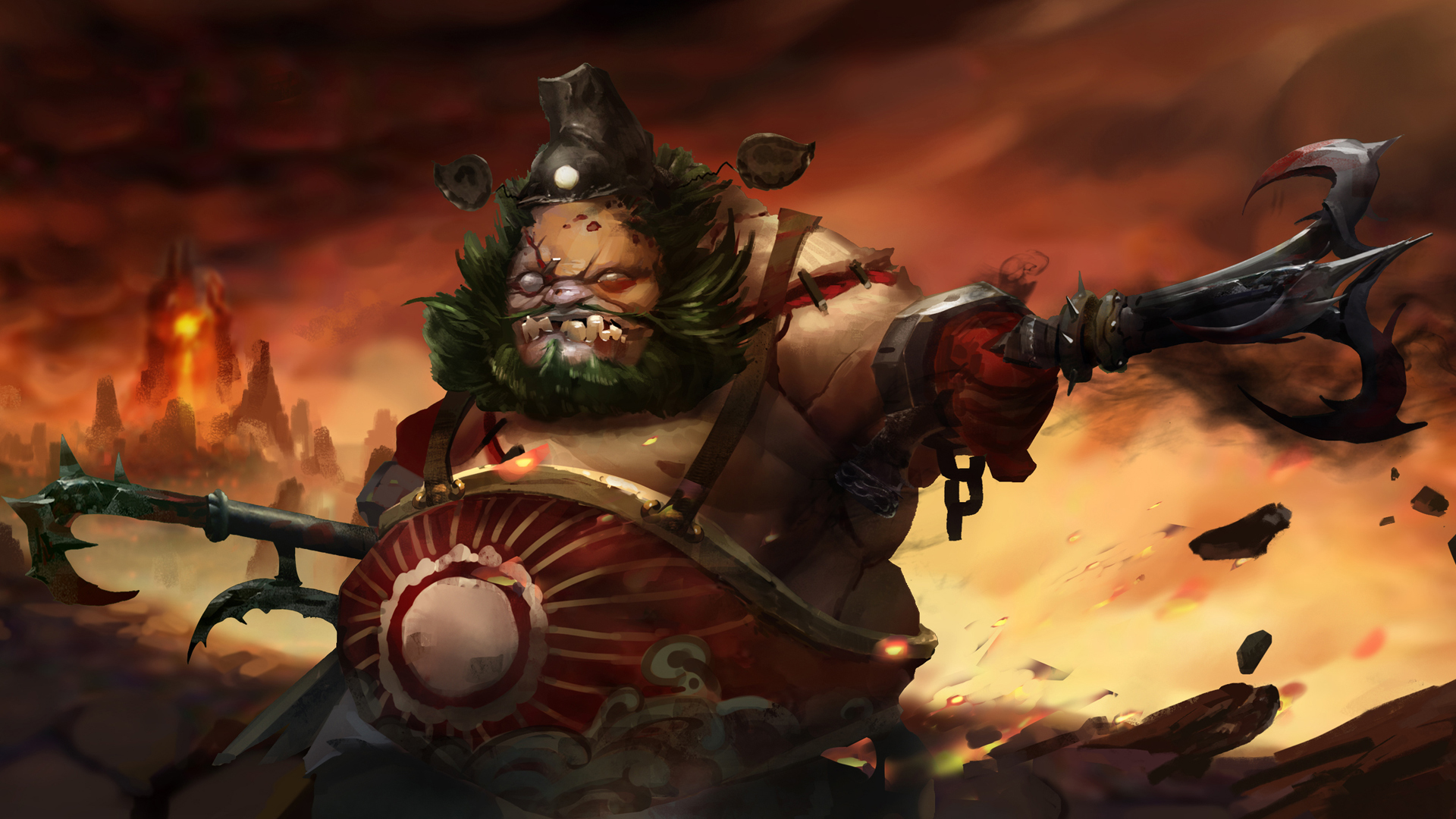 Dota Pudge The Butcher Wallpapers