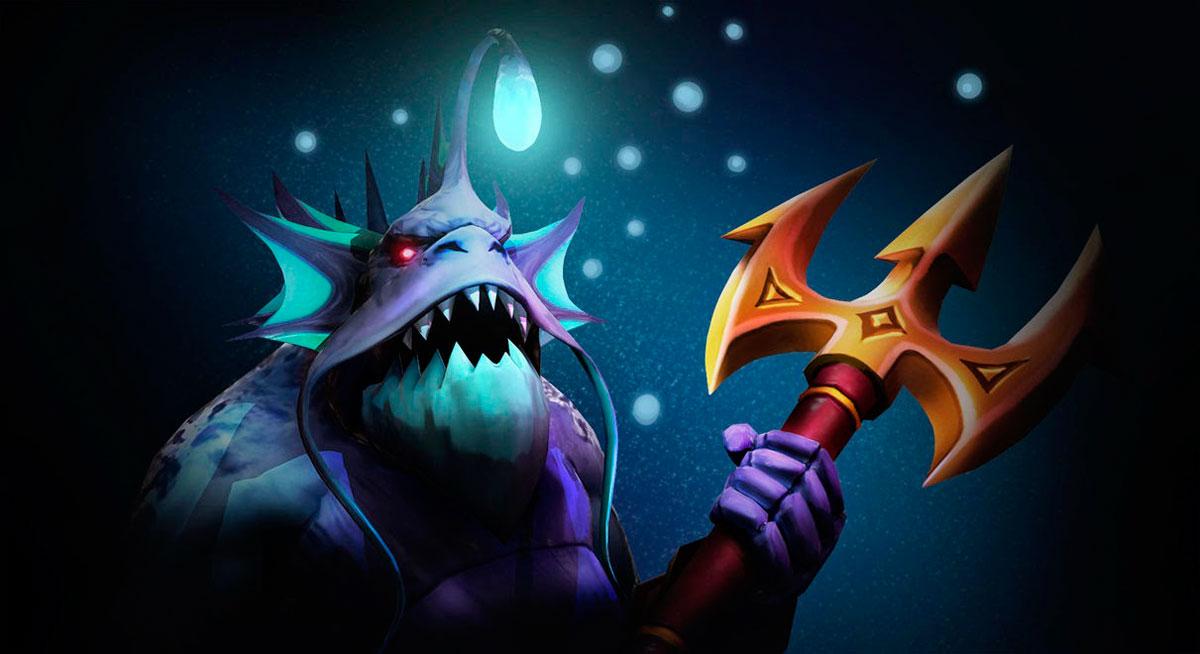 Arms of the Deep Vault Guardian Set Slardar
