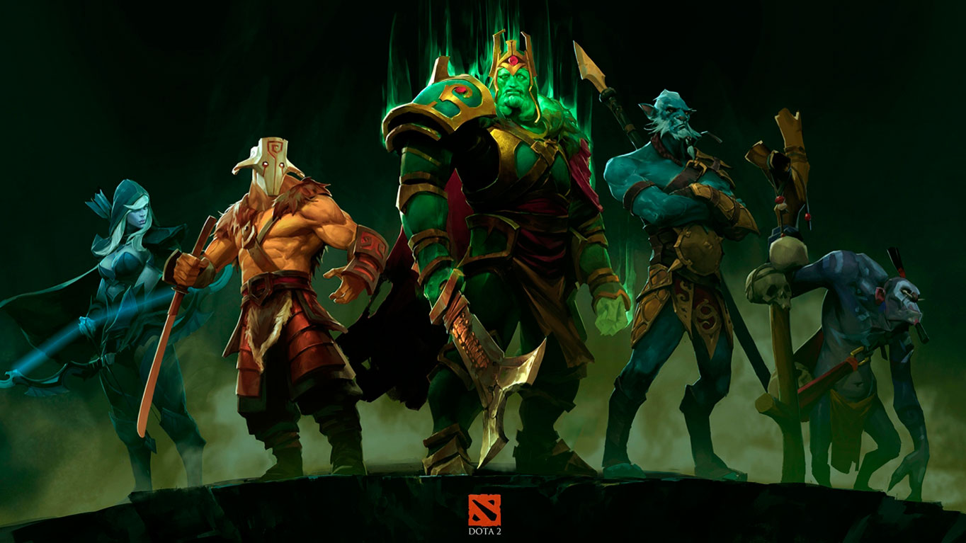 5 set Wallpapers Dota 2