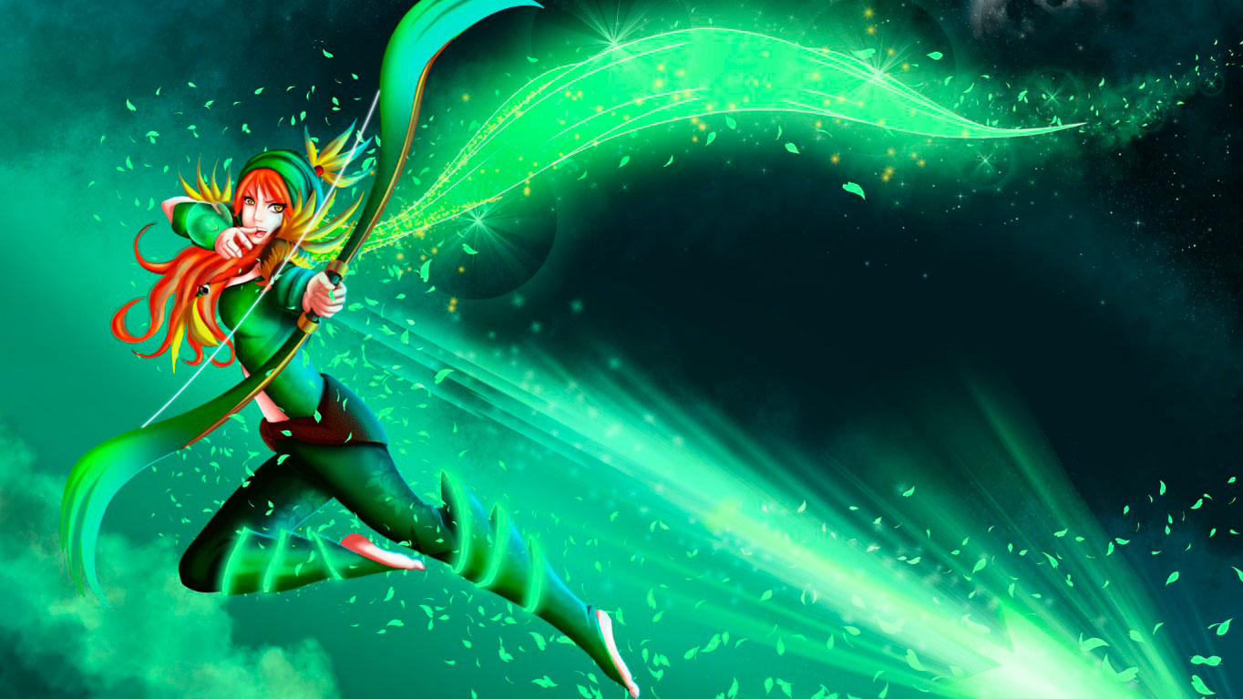Windranger  Wallpapers