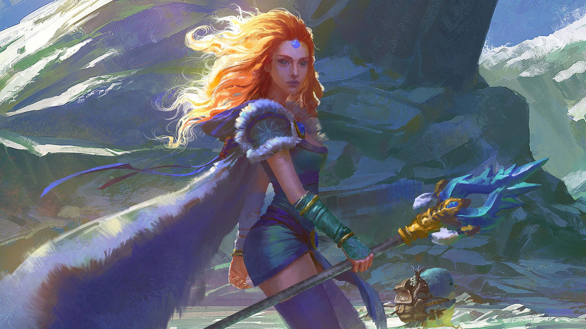 Crystal Maiden ART wallpapers