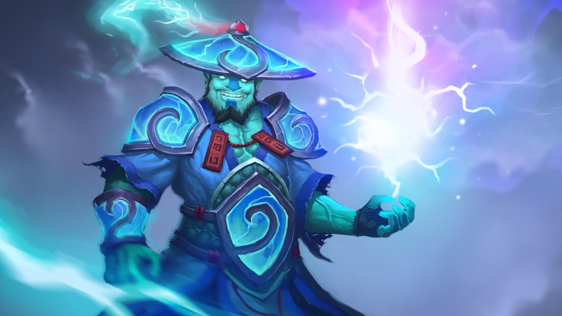 Storm Spirit Обои Дота 2
