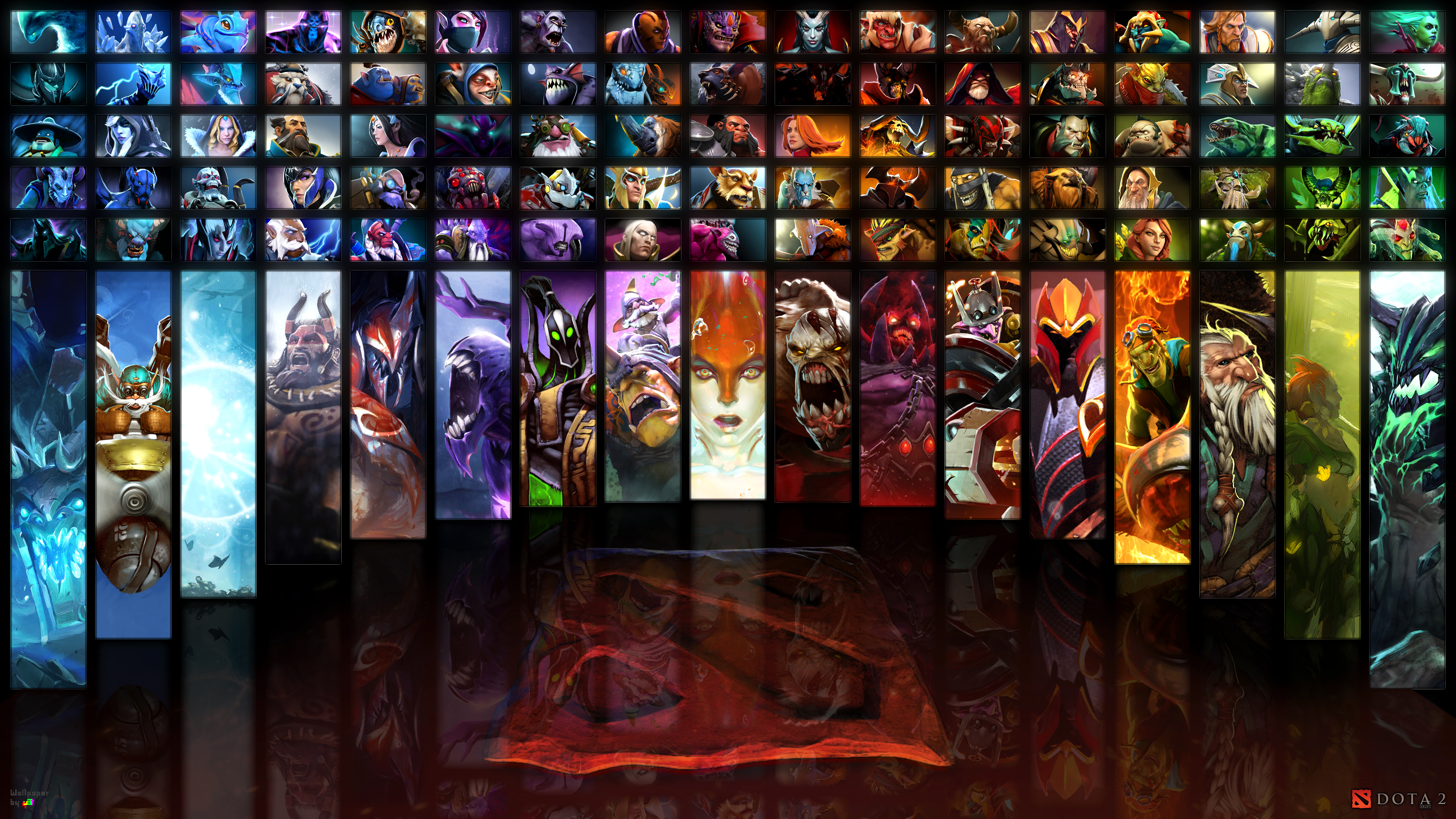 Heroes Dota 2 wallpapers