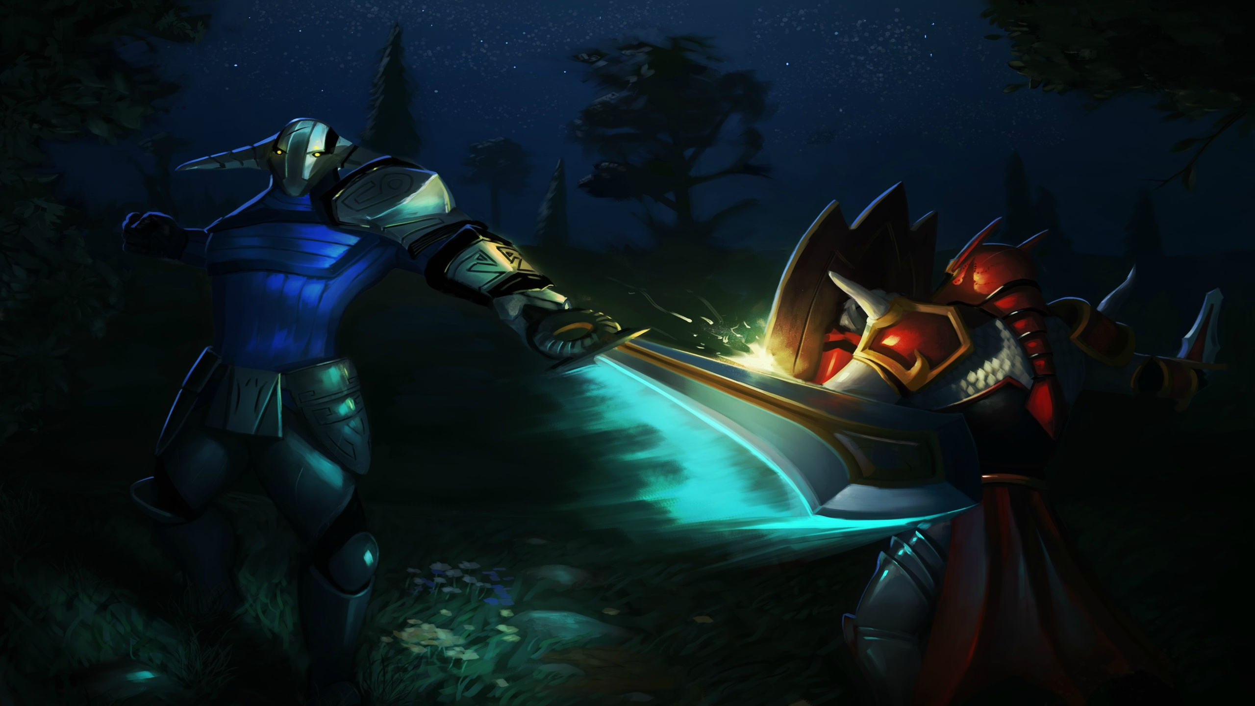 Sven vs Dragon Knight wallpapers