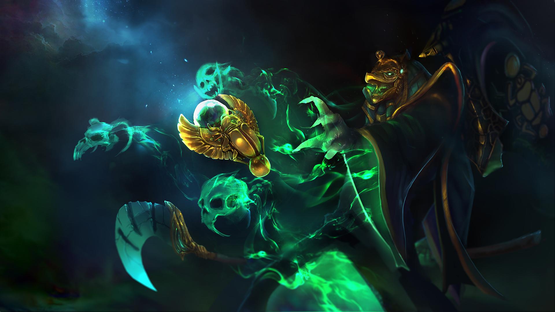Necrophos новый сет Wrath of Ka