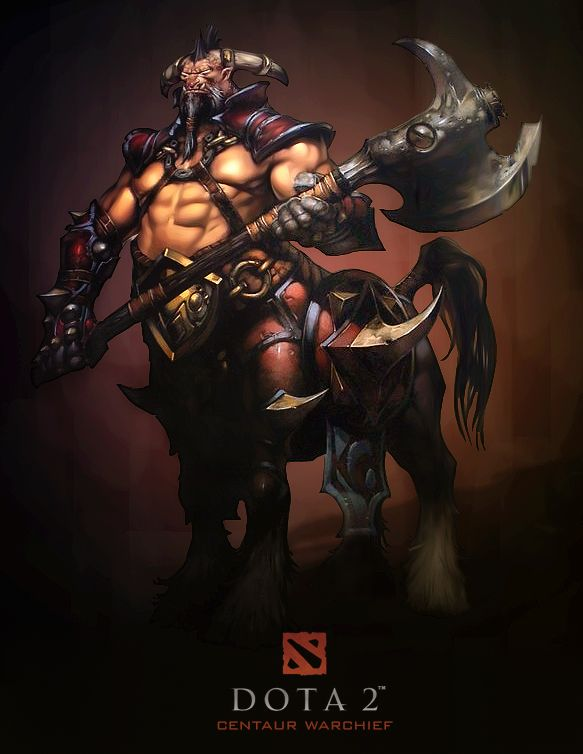 Centaur Warrunner, Кентавр Iphone Android wallpapers Dota 2