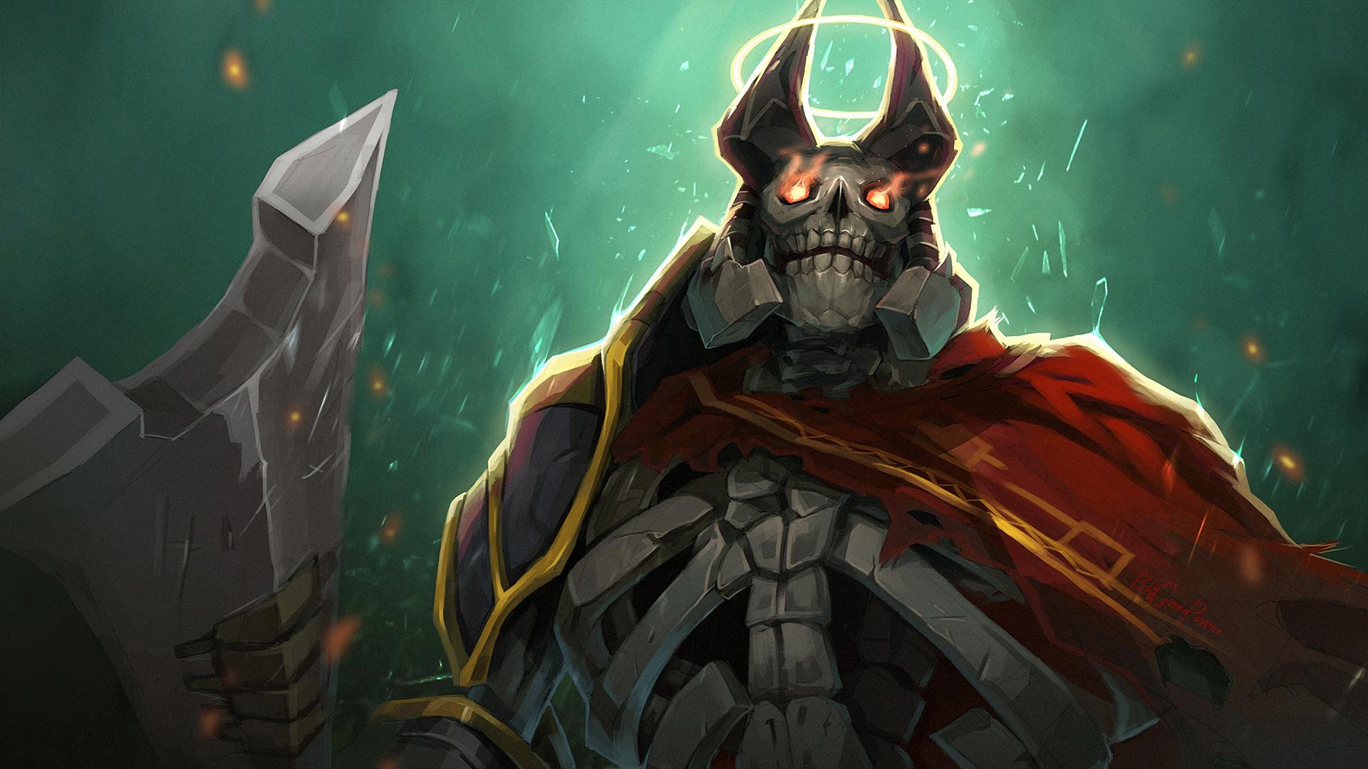 Wraith King Skeleton