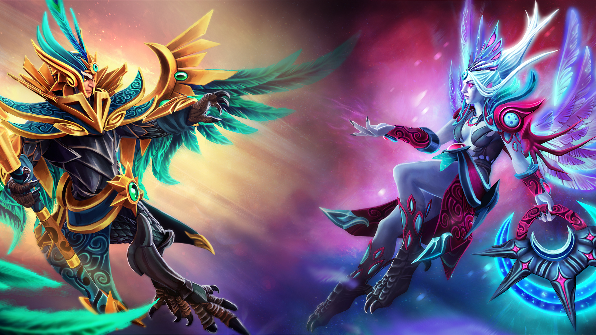 Vengeful Spirit, Skywrath Mage