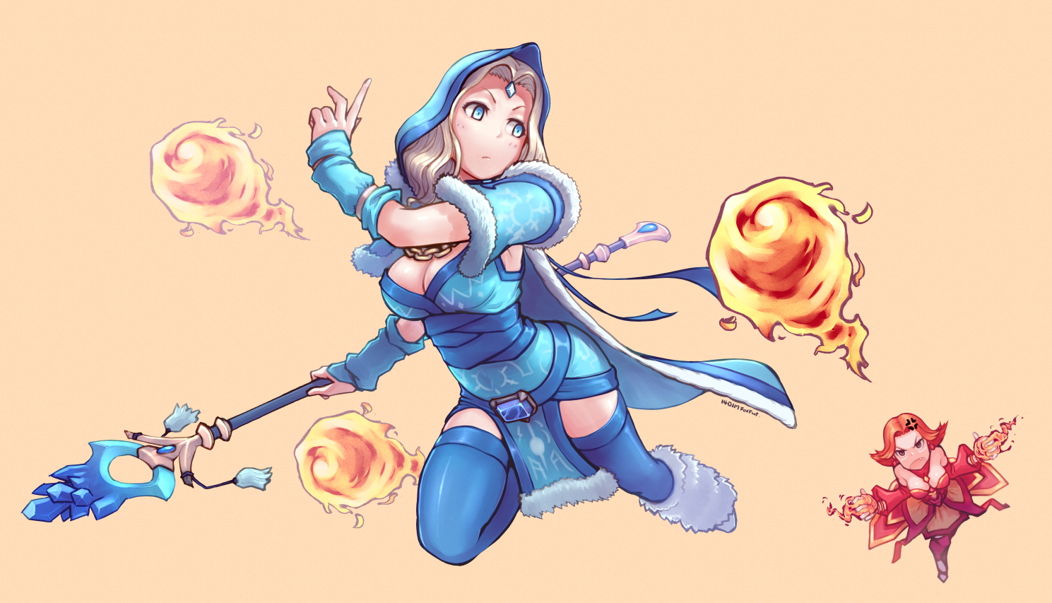 Crystal Maiden ART