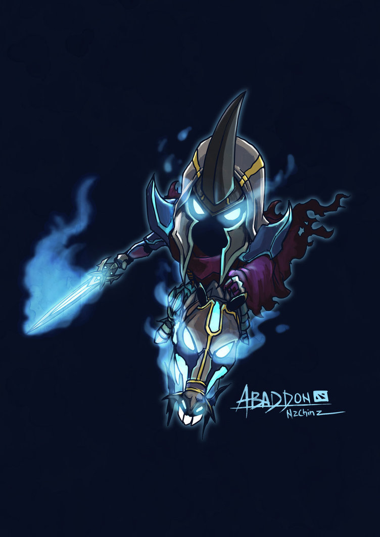 Abaddon, Абаддон, Iphone Andriod Wallpapers Dota 2