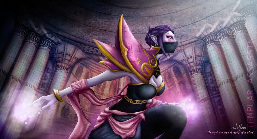 Templar Assassin by nielMunci