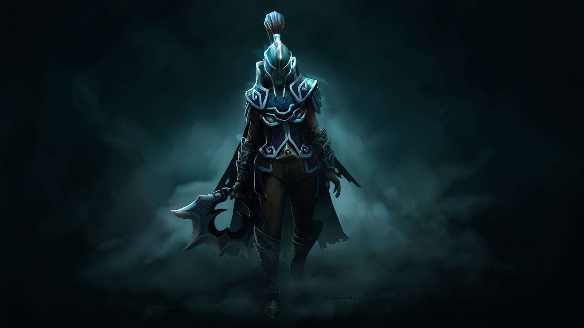 Phantom Assassin Dark Wraith Set