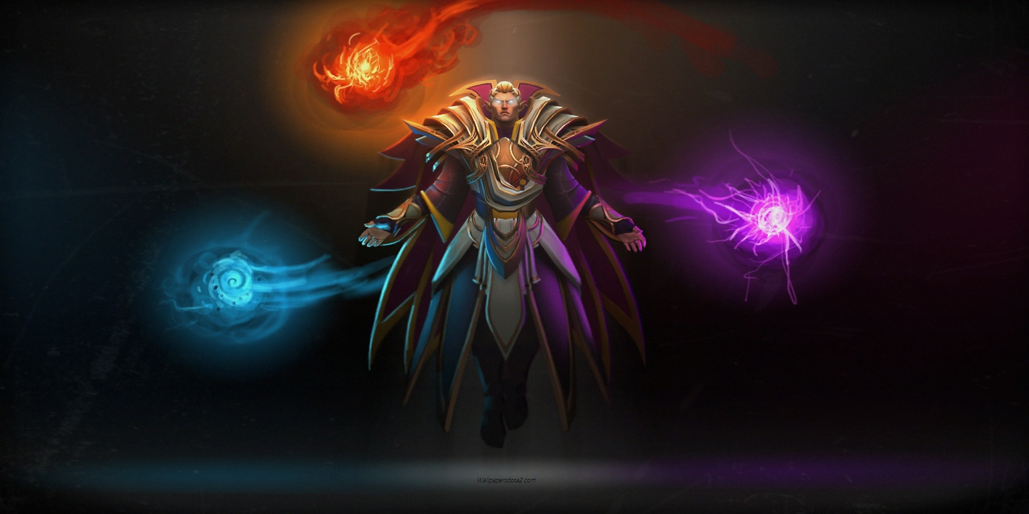 invoker computer desktop wallpaper
