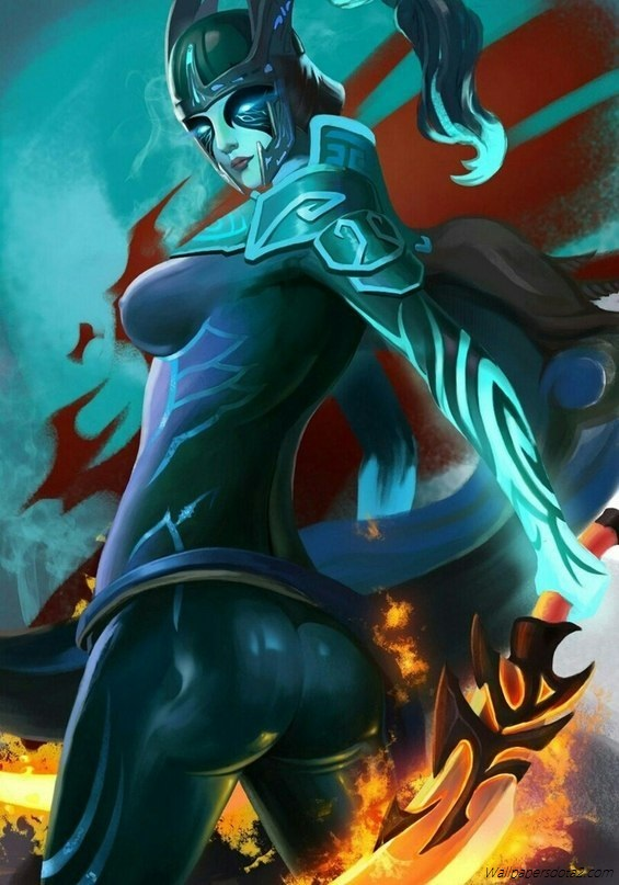 Phantom Assassin mobile phone wallpapers