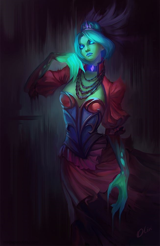 Death Prophet free cell phone wallpapers Dota 2