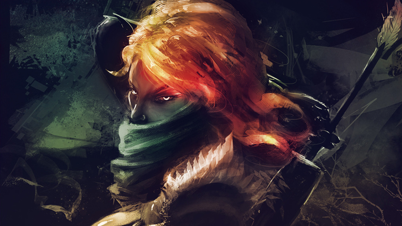Windranger wallpaper for computer desktop
