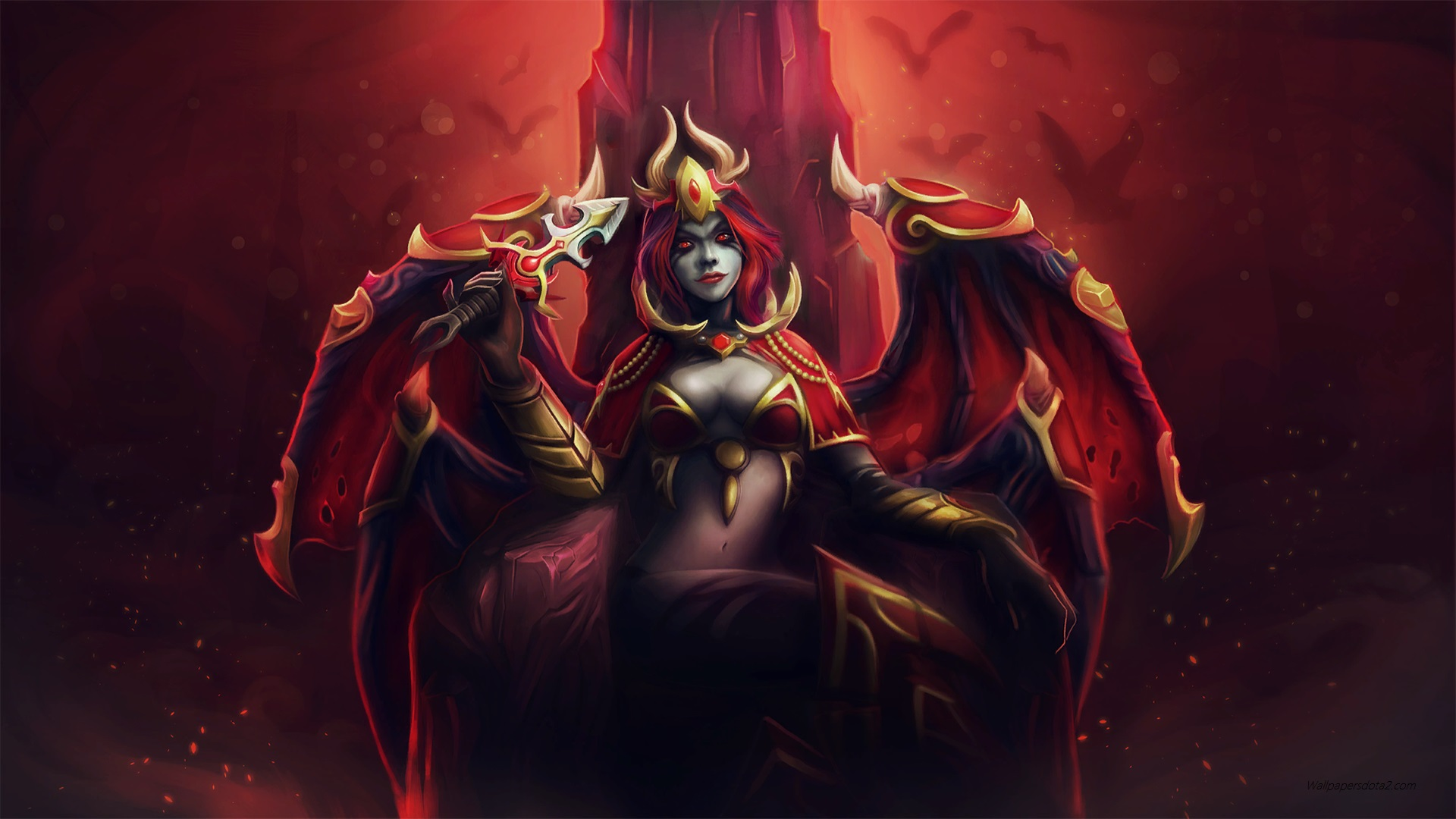 Queen of Pain Set Sanguine Royalty