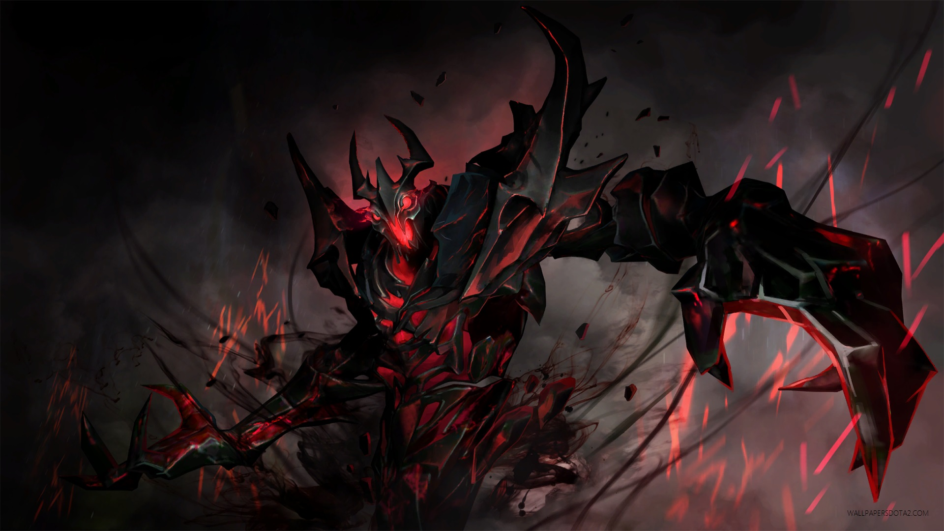 Shadow Fiend SF desktop computer wallpapers Dota 2