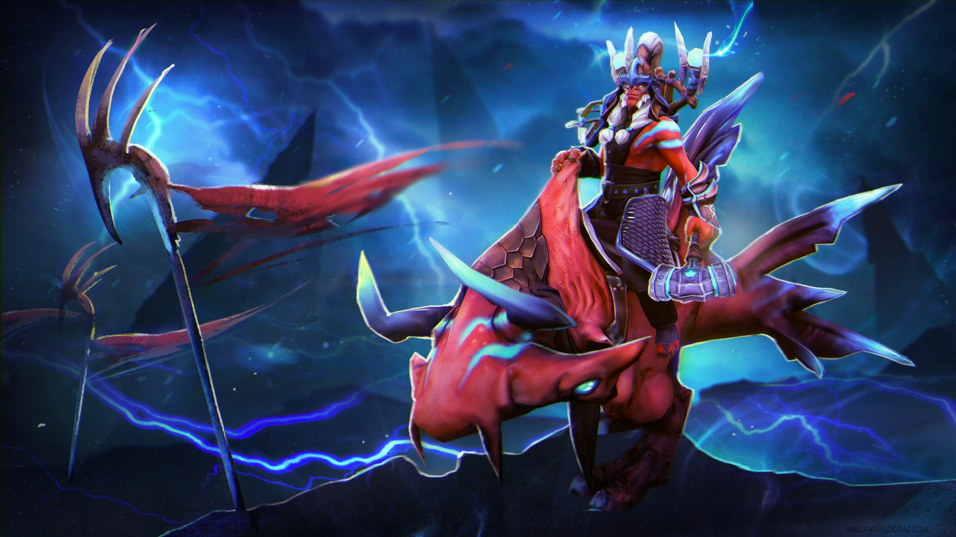 Disruptor Warrior of the Stormlands  Disruptor Warrior of the Stormlands Dota 2