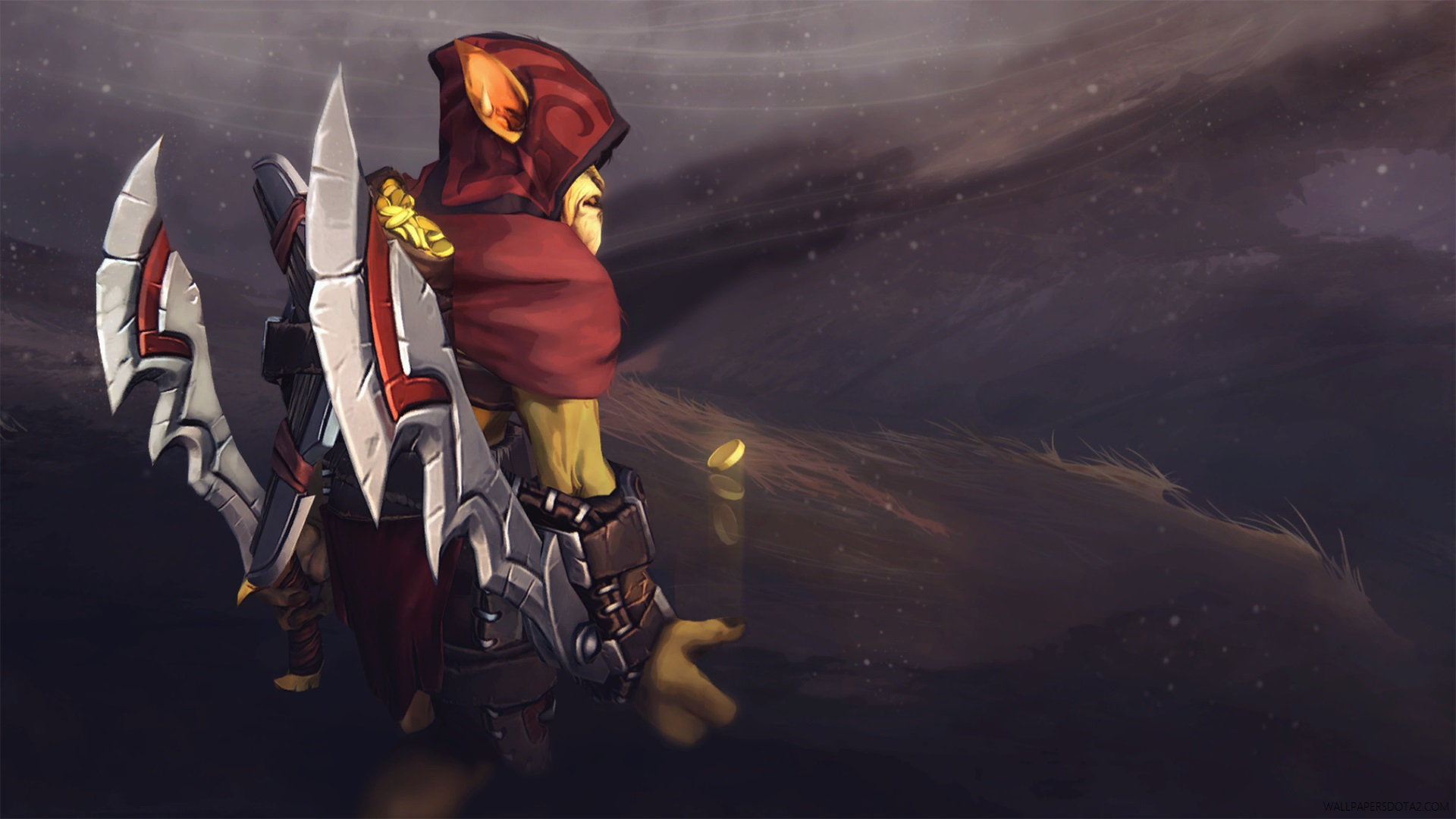 Bounty Hunter Twin Blades Assassin Dota 2