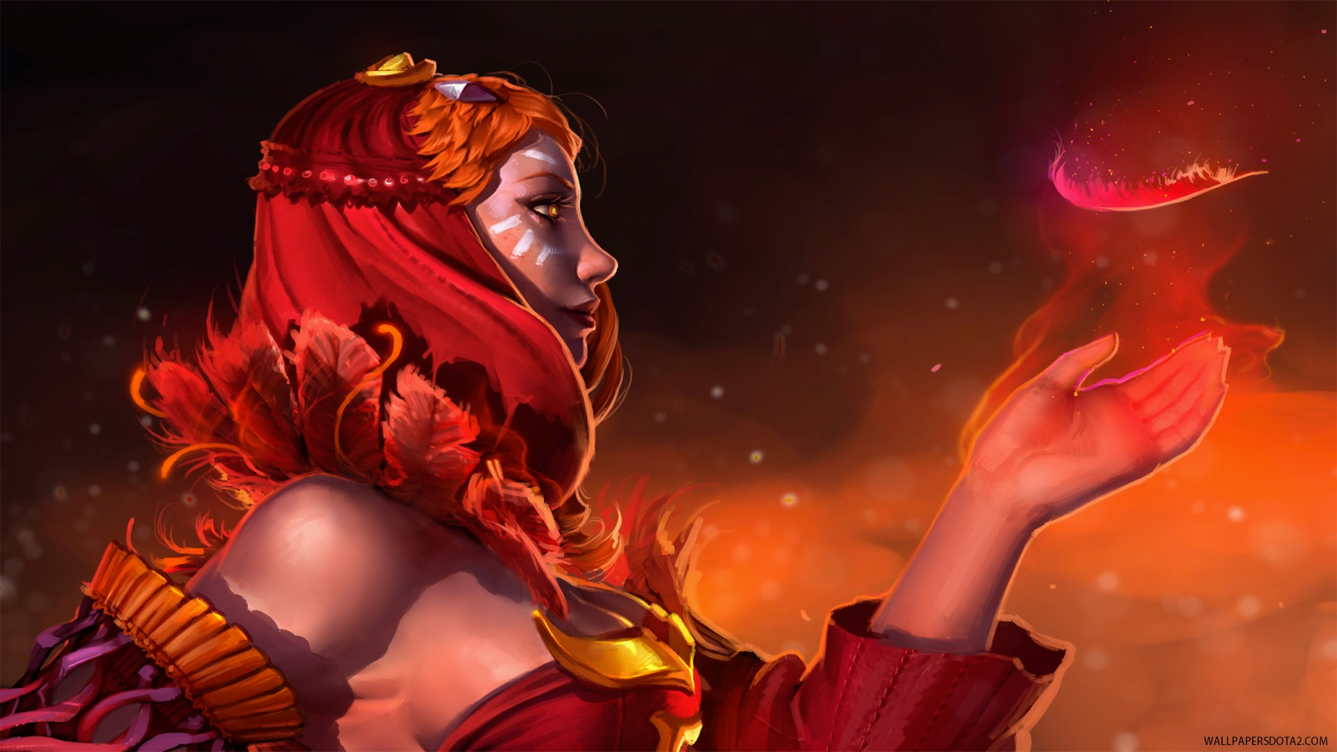 Lina desktop wallpaper high resolution Dota 2