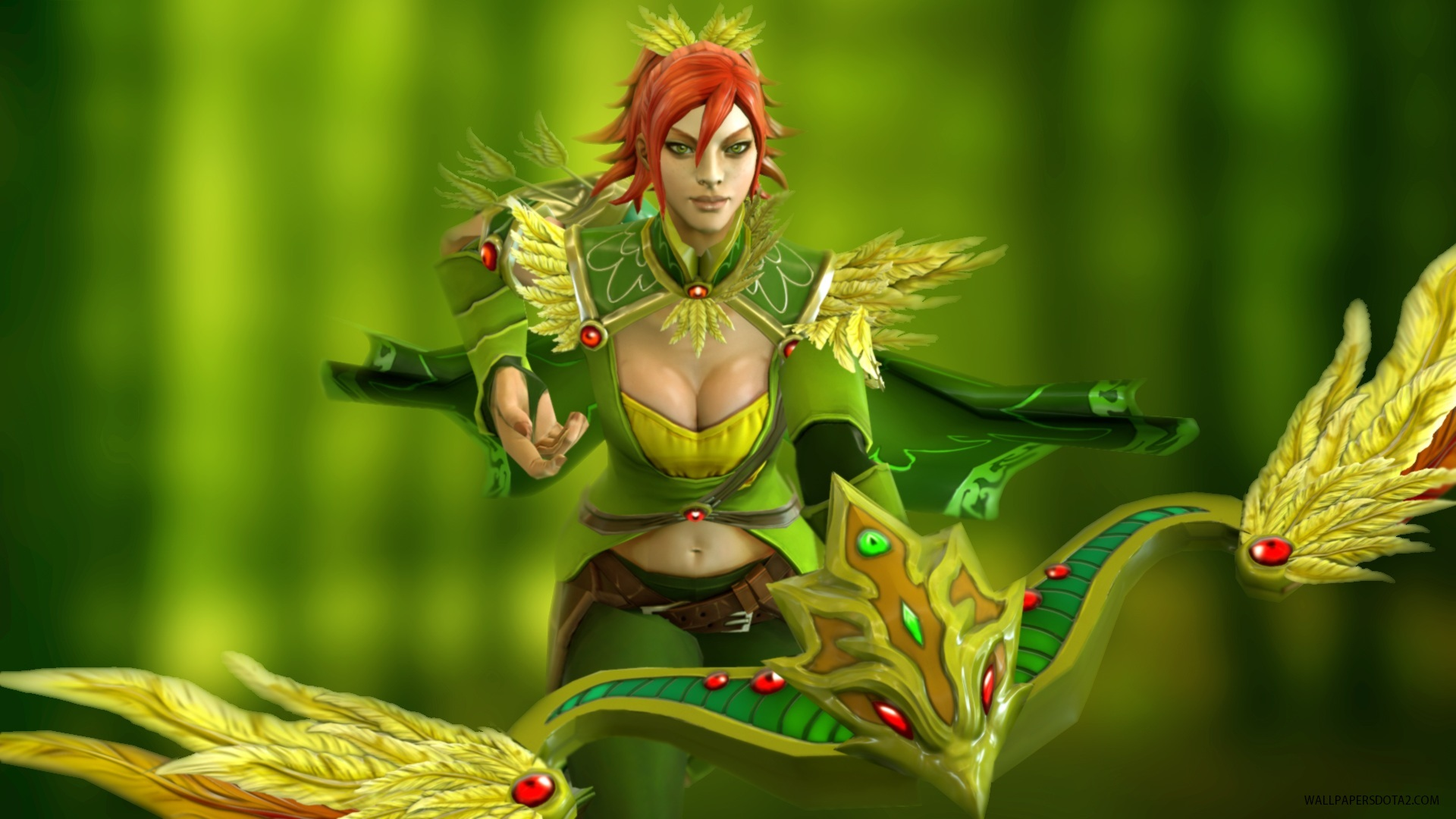 Windranger computer wallpapers Dota 2