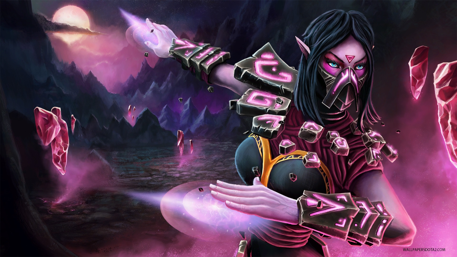Templar Assassin Epitaphic Bonds wallpapers Dota 2