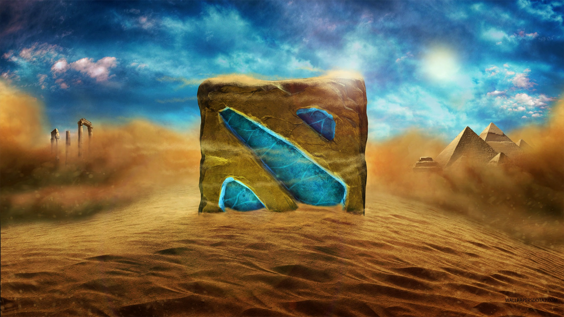 Sands of Luxor laptop desktop backgrounds Dota 2
