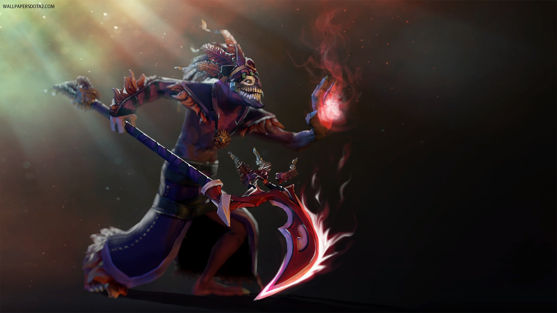 Dazzle Shadow Flame backgrounds for laptops Dota 2