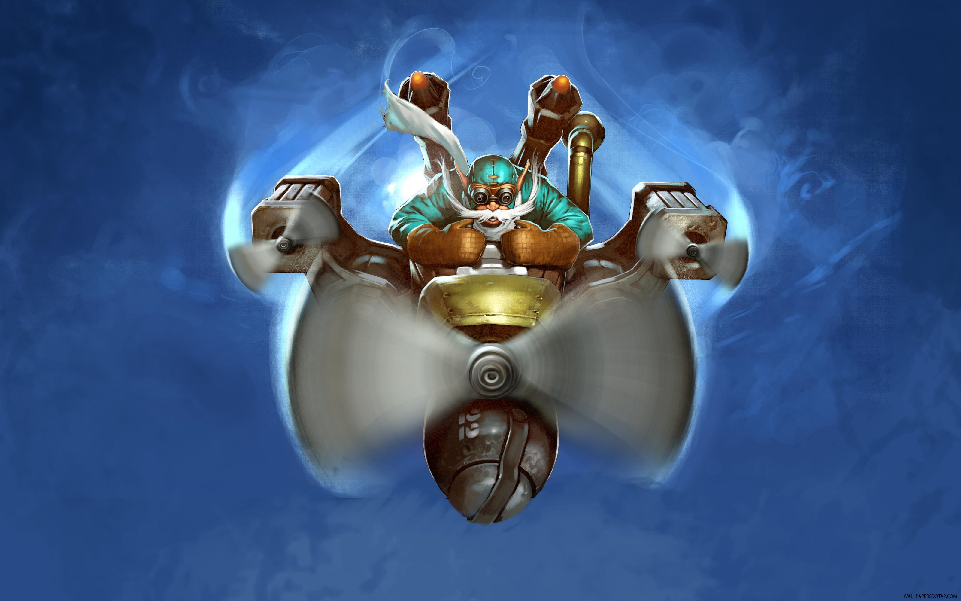 Gyrocopter high resolution desktop wallpapers Dota 2