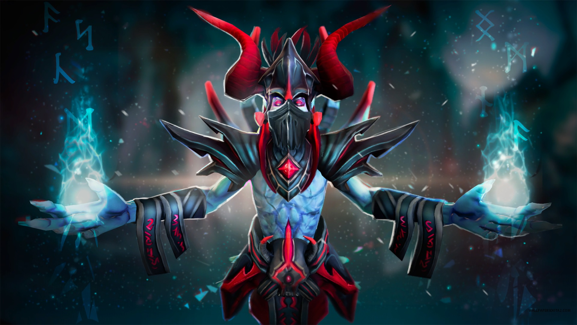 Lich Sorcerer of the Black Pool  Dota 2