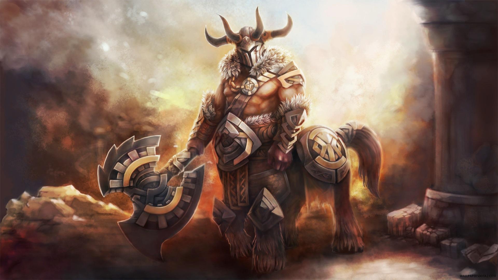 Centaur Warrunner Unbroken Stallion Dota 2 online strategy