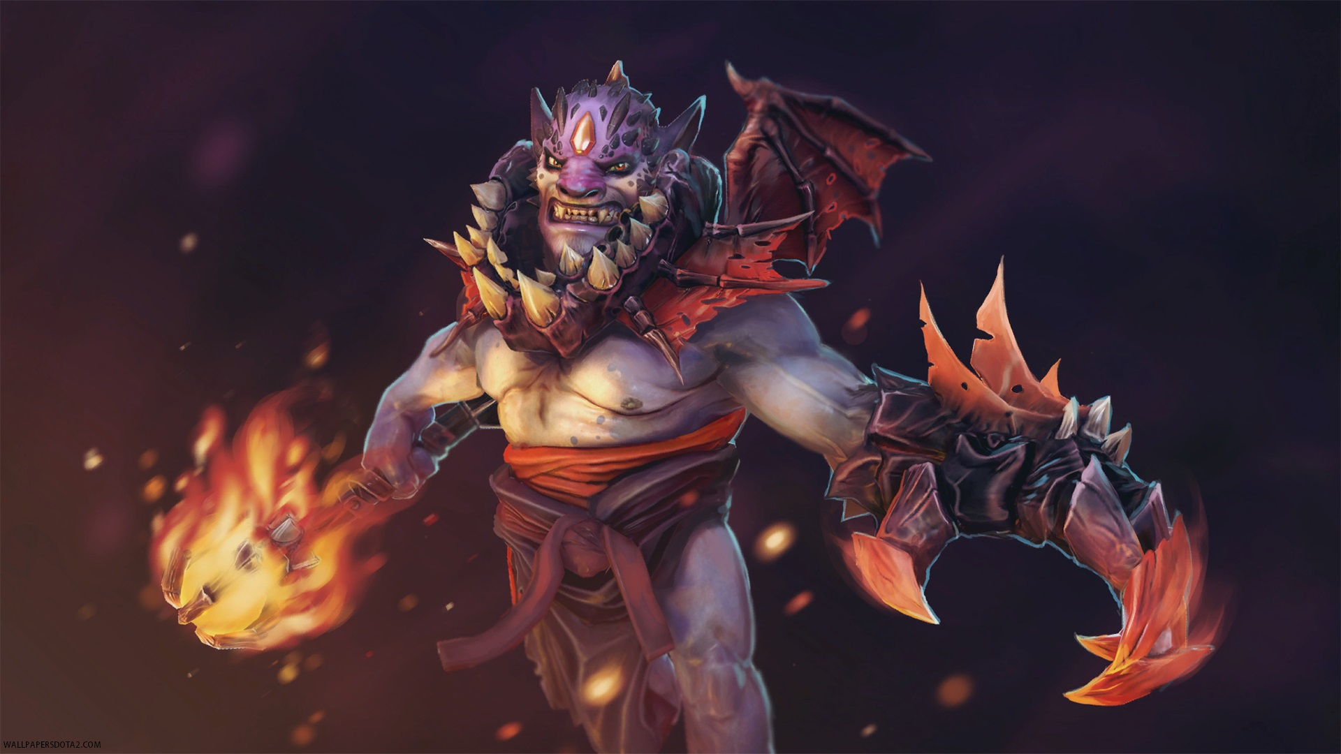 Lion Legacy of Infernal Wings Dota 2 wallpaper computer desktop