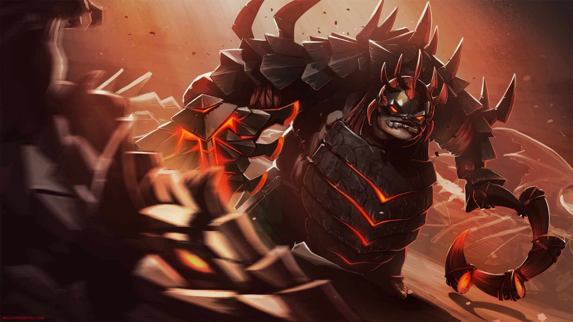 Pudge Wallpapers Dota 2 best online strategy game