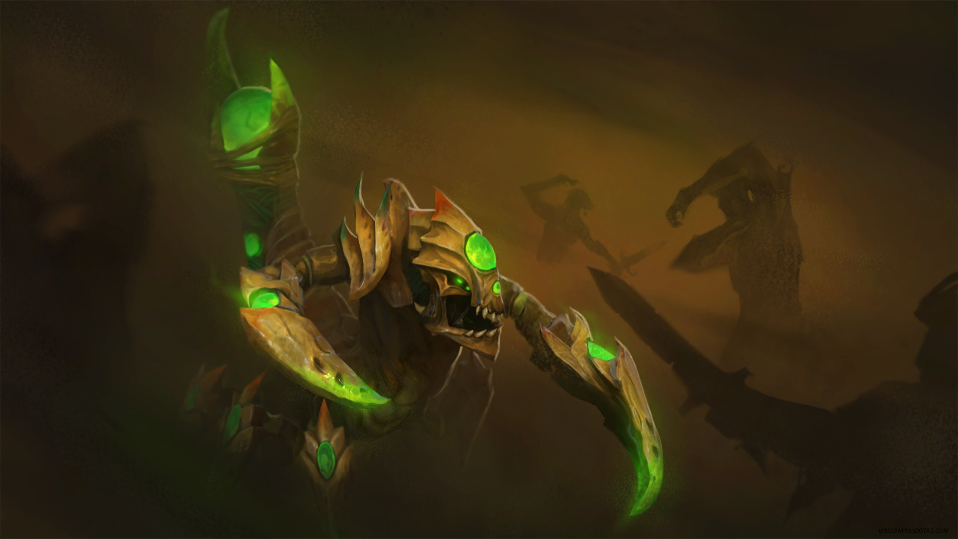 Sand King Lord of the Scouring Dunes Dota 2 desk top wallpaper