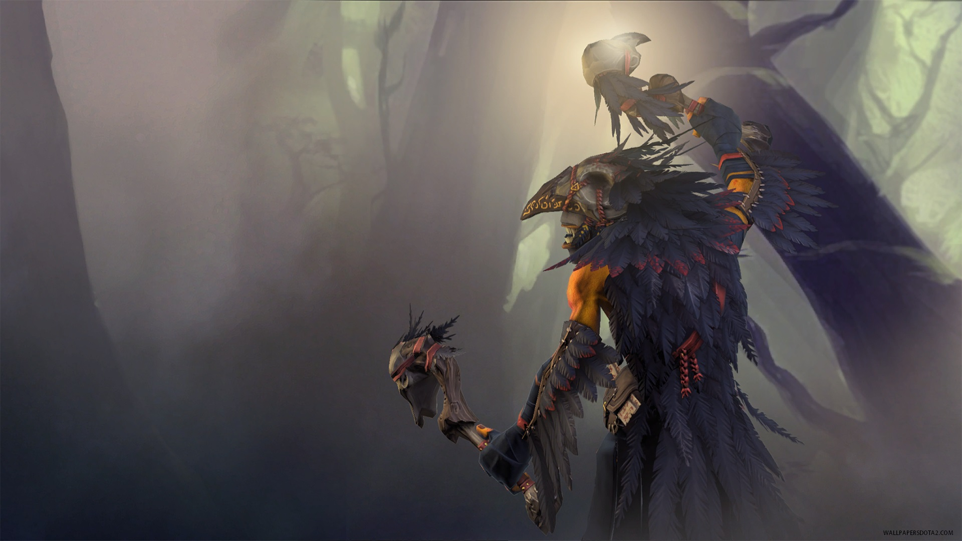 Shadow Shaman The True Crow Dota 2 free online strategy | Wallpapers Dota 2 private collection ...