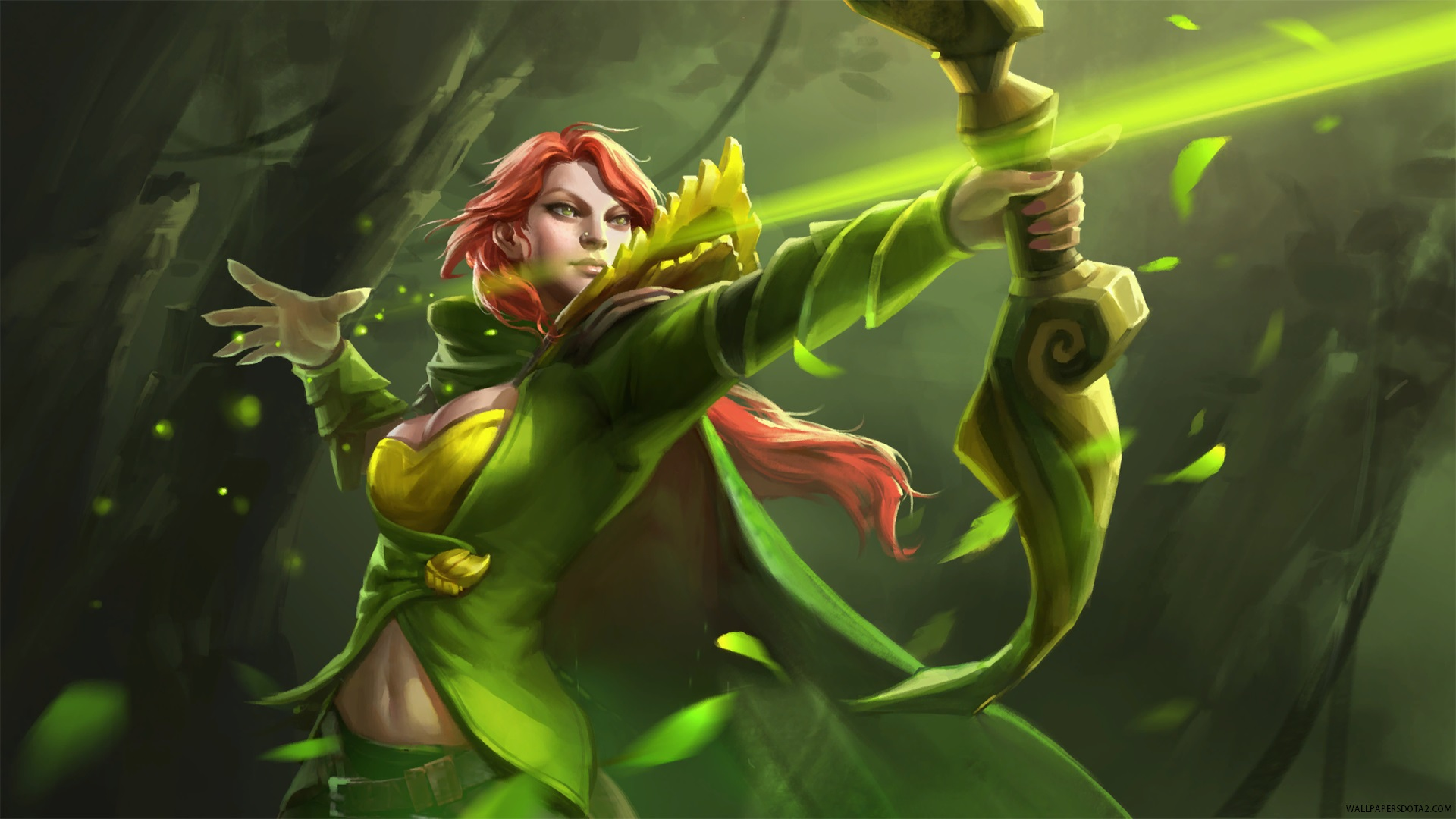 Windranger Dota 2 hd wallpapers for computer desktop