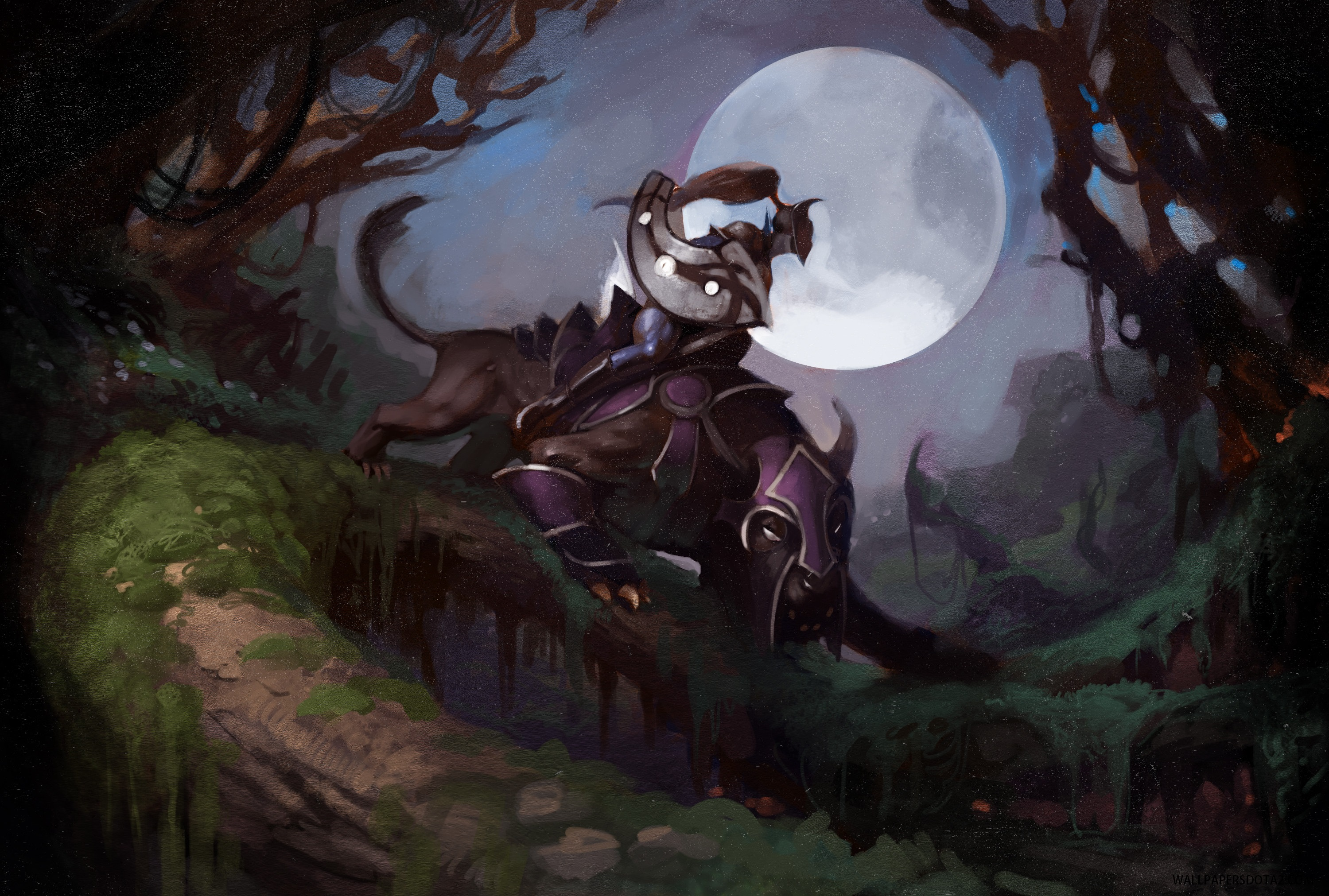 Luna free pc wallpaper download Dota 2